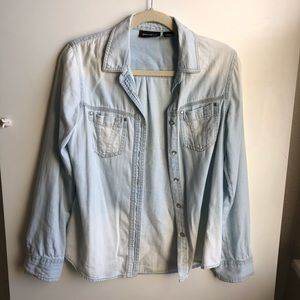 DKNY Jeans / Denim Button Up / Size XS